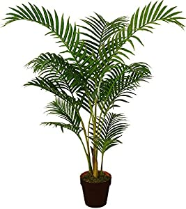 Incredible Best Artificial 120Cm 4Ft Areca Palm Tree Tropical Office Easy Diy Christmas Decorations Tissureus