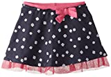 The Children's Place Little Girls' Daisy Faux Denim Skirt