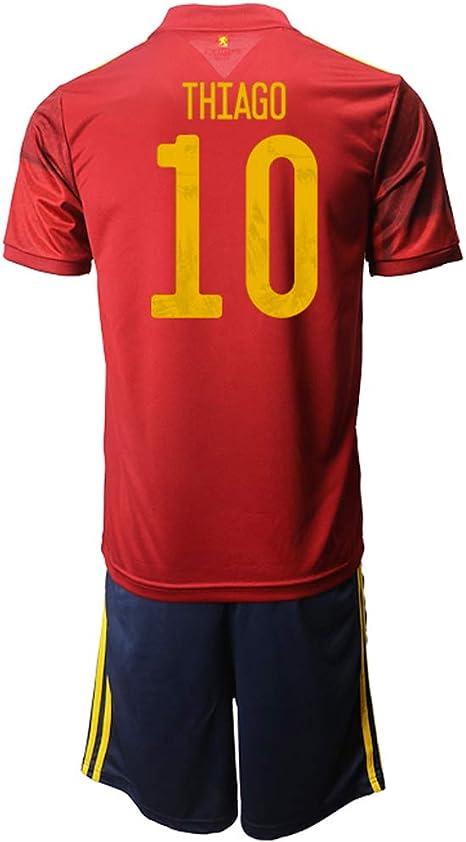 OZP Camiseta De Fútbol Soccer Jersey Short Sleeve Thiago_ Red ...