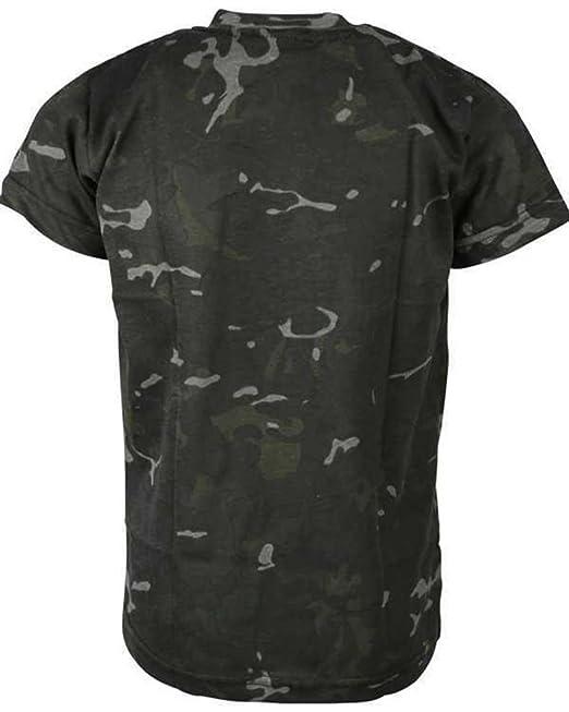 78808d5f Combat Kids Kids Army Style Camo T-shirt BTP Black Fancy Dress Airsoft:  Amazon.co.uk: Sports & Outdoors