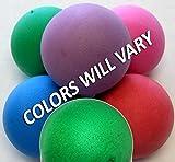 Stress Balls - 100 PLAIN Balls, Assorted Colors, Foam Ball, No Imprint