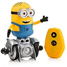 Mini Minion MiP Turbo Dave - Miniature Remote-Controlled Robot Toy - Voted #1 Toy for 2017