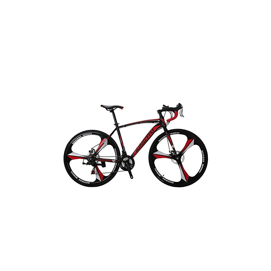 VTSP XC550 Road Bicycle 700Cx28C Steel Hard Frame 21 Speeds Road ...