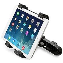 Universal Car Headrest Mount Holder for iPad, iPad Air, iPad Mini, Samsung Galaxy Tab, Kindle fire HDX and 7-10 inch Tablets, 360 Degree Rotation by KonzTec