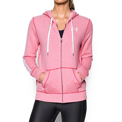 Under Armour Women's Favorite Fleece Full Zip, Knock Out (656), Small