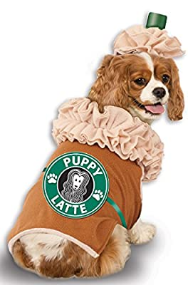 Rubies Costume Iced Coffee Pet Costume