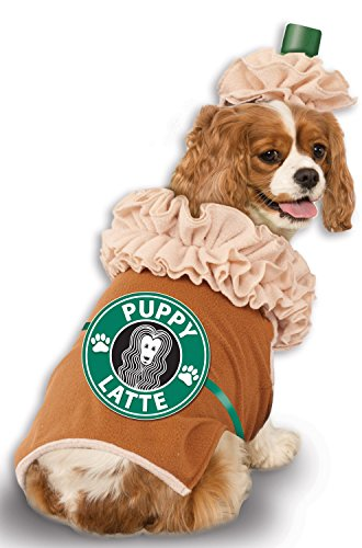 Rubie's Iced Coffee Pet Costume, (Pet Halloween Costumes For Small Dogs)