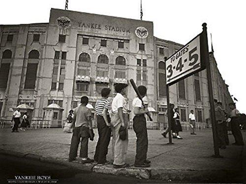 - Yankee Boys - New York - Yankee Stadium 24x32 Poster Art Poster Print, 32x24