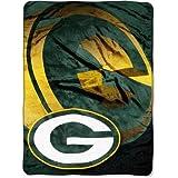 """NFL Green Bay Packers 60"""" x 80"""" Oversized Micro Raschel Throw Blanket"""