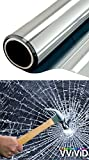 VViViD Clear Protective 4mil Vinyl Window Glass Wrap Shatterproof Security Film Roll