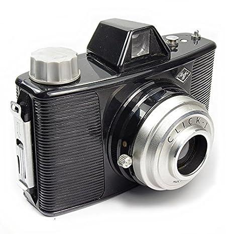 Agfa Click I - Vintage 1950s formato mediano 120 cámara: Amazon.es ...