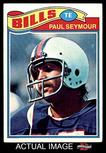 1977 Topps # 317 Paul Seymour Buffalo Bills (Football Card) Dean's Cards 4 - VG/EX - Seymour Paul Buffalo