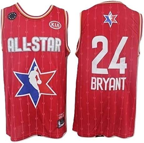 WOLFIRE SC Camiseta de Baloncesto para Hombre, NBA, Los Angeles Lakers #8#24 Kobe Bryant. Bordado Swingman Transpirable y Resistente al Desgaste Camiseta para Fan: Amazon.es: Deportes y aire libre