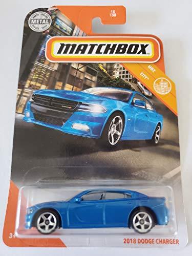 Matchbox 2020 MBX City 2018 Dodge Charger, Blue 15/100