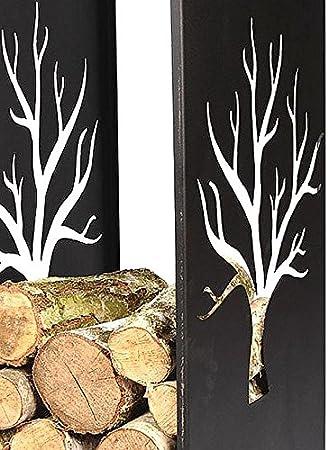 1470/Chemin/ée Support en bois 109/cm /à bois pour chemin/ée rega Chemin/ée /Étag/ère en bois 10