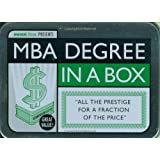 MBA Degree in a Box (School in a Box)