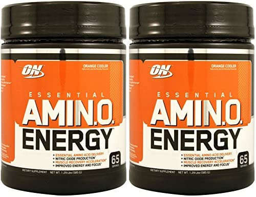 Optimum Nutrition Amino Energy 65 S Orange Cooler 2 Pack