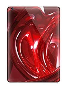 High Quality Abstract Red Case For Ipad Air Perfect Case