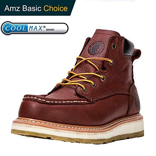 ef2ad0fd9d26 ROCKROOSTER Composite Toe Work Boots for Men