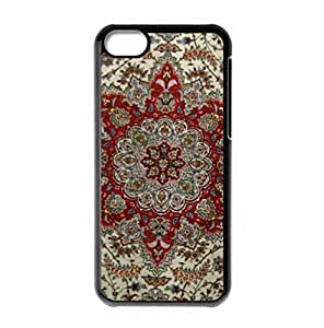 Hard back cover with Ethnic Tribal Indian Mandala logo for iPhone 5C