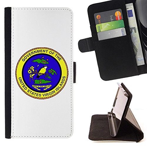 - STPlus United States Virgin Islands, Seal, Territories USA United States of America Wallet Card Holder Cover Case for Samsung Galaxy Note 9