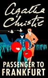 Front cover for the book Passenger to Frankfurt by Agatha Christie