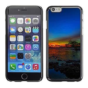 Cubierta de la caja de protección la piel dura para el Apple iPhone 6 (4.7) - Majestic Lion Crest