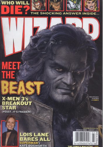 (Wizard (Meet the Beast, March 2006 Cover 1 of)