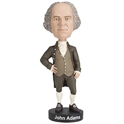 Royal Bobbles John Adams Bobblehead: Toys & Games