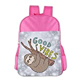 Best Fisher-Price Books For Baby Girls - Children's Good Vibes Funny Sloth School Backpack Bookbag Review