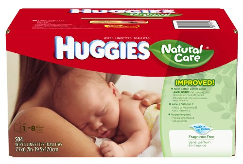 Huggies Natural Wipes Bonus Refill