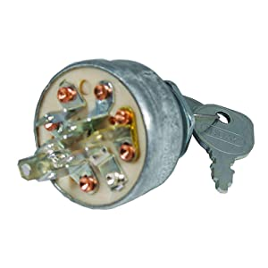 Stens 430-674 Starter Switch Replaces AYP 140301 Husqvarna 532 14 03-01 Murray 092556MA 5412H MTD 925-1717 Briggs & Stratton 5412H Murray 92556 MTD 725-1717 Murray 092556
