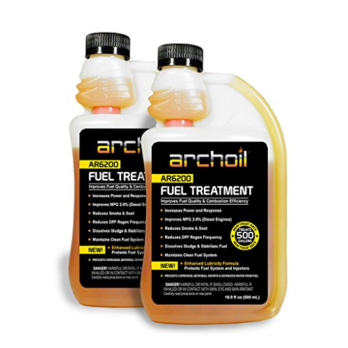 Archoil AR6200 Fuel Treatment Two Pack - 2 x 16oz Bottles - Treats 1,000 gallons of Fuel (Best Truck For Hotshot Hauling)