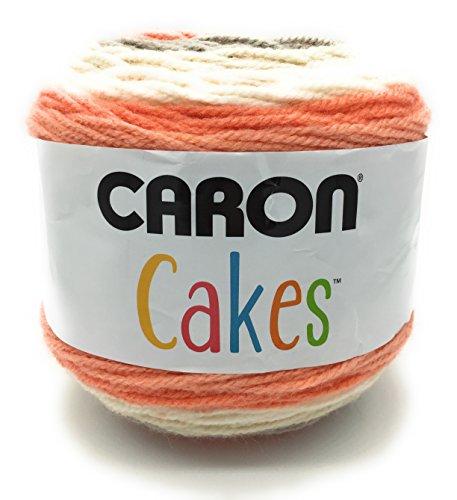 - Caron Cake Self Striping Yarn 1 Ball Strawberry Trifle 7.1 ounces