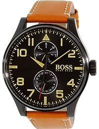 Men's 1513082 Brown Leather Quartz Watch