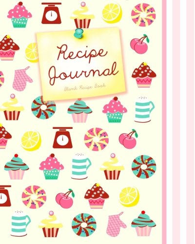 Blank Recipe Book: Recipe Journal ( Gifts for Foodies / Cooks / Chefs / Cooking ) [ Softback * Large Notebook * 100 Spacious Record Pages * Cupcakes & ... - Specialist Composition Books for Cookery) (Best Places For Dorm Shopping)