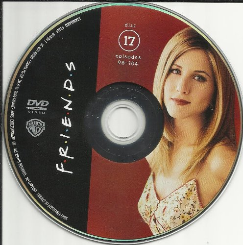 Friends The Complete Series Disc 17 Episodes 98-104 Replacement Disc!