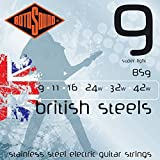 Rotosound BS9 British Steel Electric Guitar Strings (9-42)