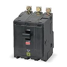 Circuit Breaker, Bolt On, QO, 3Pole, 15A