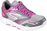 Cheap Skechers Women's Go Run Vortex Trainers,Charcoal/Hot Pink,7.5