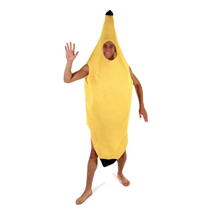 Disfraz de plátano para adulto, color multicolor 2-Pack ...