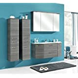 pelipal badm bel mara mokka struktur 112 cm mit spiegelschrank 2 324 mara f17 2. Black Bedroom Furniture Sets. Home Design Ideas