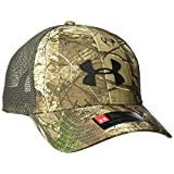 Under Armor Men's Camo Mesh 2.0 Cap, Realtree Ap-Xtra/Maverick Brown, One Size
