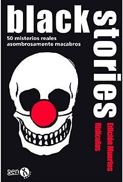 Black Stories - Muertes Ridículas, Juego de Mesa (Gen-X Games GEN028): Amazon.es: Juguetes y juegos