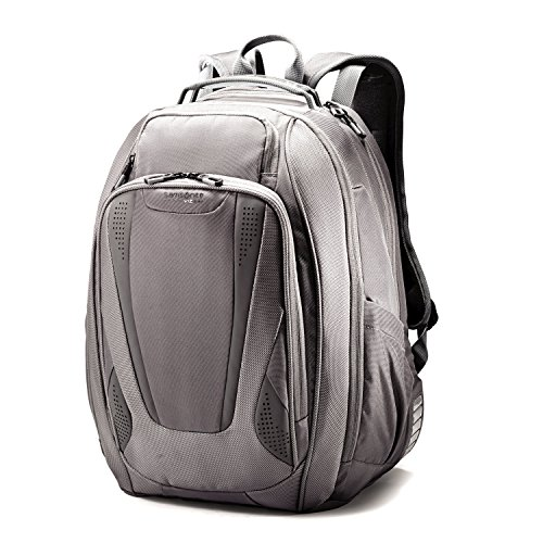 Samsonite Vizair 2 Laptop Backpack, Grey/Smoke, One Size