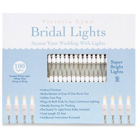 Better Crafts 100 LIGHT SET WHITE.FROSTED VICT LYNN (6 pack) (0VL100-20) ()