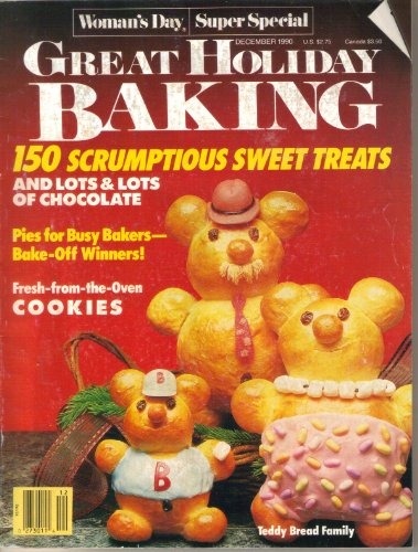 Woman's Day Super Special Great Holiday Baking Magazine (December, 1990)