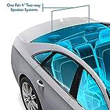 "4"" Car Sound Speaker (Pair) - Upgraded Blue Poly"