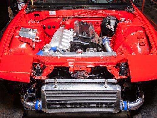 Amazon.com: CXRacing Turbo FMIC Intercooler Kit For 240SX S13 S14 S15 RB20 RB25 Engine Swap: Automotive