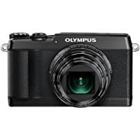 Olympus SH-1 16 MP Digital Camera (Black) - International Version (No Warranty)